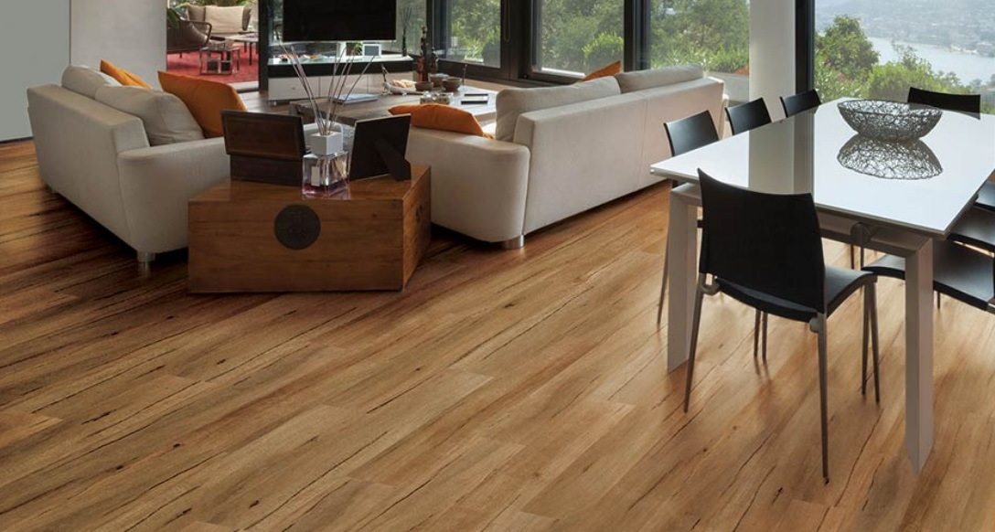 image of timber floor in lounge room